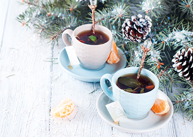 Our special winter selection smells like hot chocolate, mulled wine and tea cocktails. Enjoy your favorite at our City bar.